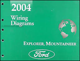 2004 ford explorer mercury mountaineer wiring diagram manual original