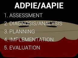 Adpie Charting Sample The Nursing Process By Traci Boren