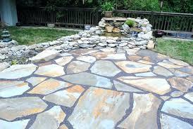 natural stone patio designs unique stones design ideas nice