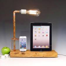 diy wood charging station the handmade docking station with table lamp for and diy wood iphone diy wood charging station