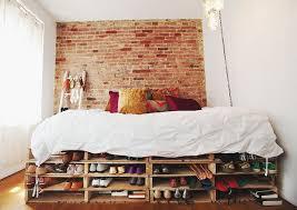 diy under bed shelves for shoe storage