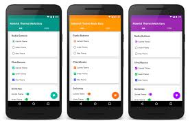 Spinner Design In Android Android Material Themes Made Easy With Appcompat Dzone Mobile