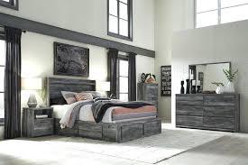 Ashley Storage Bed Furniture Storage Bedroom Set In Grey Ashley Kira ...