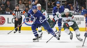 Postgame Hat Trick Maple Leafs 4 Wild 2