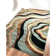 teal colored area rugs ordinary brown and blue rugs awesome nirvana waves multi abstract geometric blue