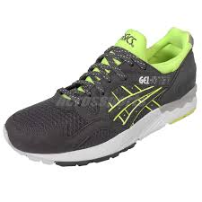 Asics Gel Lyte V Size Chart Details About Asics Tiger Gel Lyte V 5 Grey Volt Retro Running Shoe Classic Sneaker H609n 1616