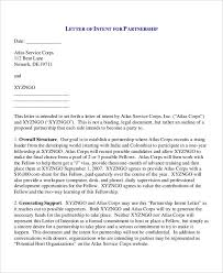 39 Letter Of Intent Templates Free Word Documents