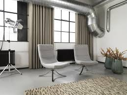 Inoxy collection inspired by the industrial look used to create this modern  decor.