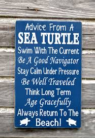 Sea Turtle Bathroom Accessories Beach Decor Advice From A Sea Turtle Wooden Beach Sign