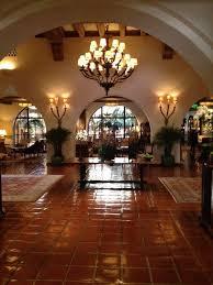 spanish style decorating the spanish colonial style lobby at the four seasons santa floor