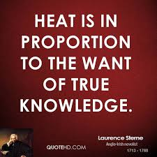 Laurence Sterne Quotes QuoteHD Delectable Heat Quotes