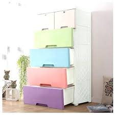 Drawers For Clothes Kids Closet Storage Cabinet With 4 And 2 Cabinets Easy  To Assemble Plastic Dresser R34