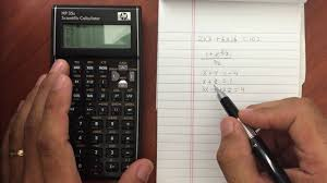 hp 35s solving systems of linear or simultaneous equations you