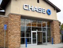 chase bank glass front