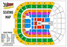 Moa Seating Chart Wwe Live Manila 2016 Philippine Concerts