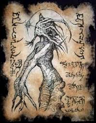 no scholar knew the origin of the strange demon said to haunt the ruins of yiidaqqua and no sorcerer knew the true name that might bind of banish it bu