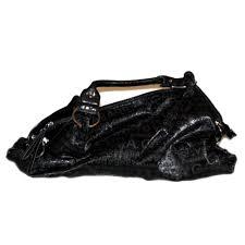non leather handbag gabarra black