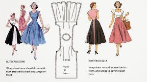 Wrap Around Dress Pattern Interesting Decorating