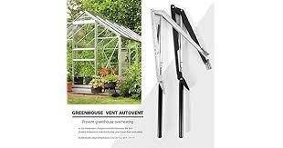 <b>1PC Solar Heat Sensitive</b> Auto Thermo Greenhouse Vent Window ...