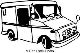 メール トラックイラストとクリップアート5360 メール トラック