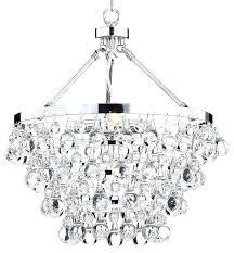 glass drop chandelier jimmy light crystal