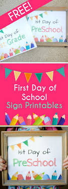 best ideas about first day printable elf ideas first day of school sign printables for grade school make the first day of