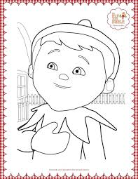 elf on the shelf coloring pages inspirational elf the shelf coloring coloring pages of elf