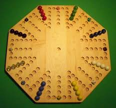 Wooden Marble Game Board Aggravation Wooden Marble Game Board Aggravation 100 Octagon Hard 12