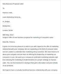 38 Proposal Letter Templates Word Pdf Free Premium