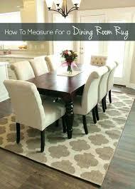 round dining rug table room ideas medium