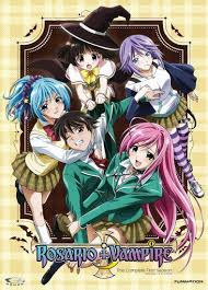 It centers around a girl, karin, who was born into a vampire family. Rosario Vampire Anime Recommendations Anime Planet