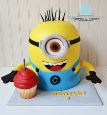 3D Minion Cake - Made for one of my best friends cute little boy who turned