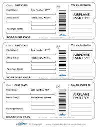 Fake Airline Ticket Template Khchine5