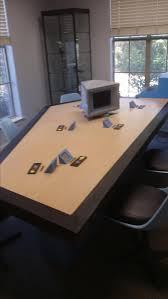 Star Trek Bathroom Accessories Hand Made Tos Star Trek Briefing Room Table By Southern