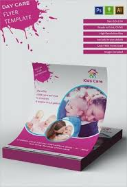 Child Care Brochure Template Templates Free Business Cards Home