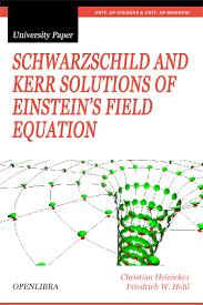 schwarzschild and kerr solutions of einstein s field equation
