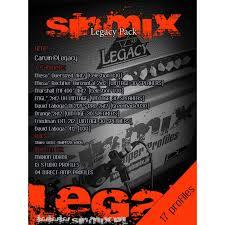 sinmix legacy pack