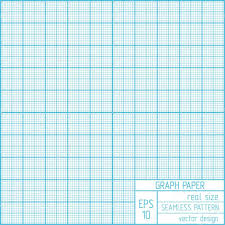 Graph Paper Seamless Pattern Stock Vector Olgamilagros 37123323