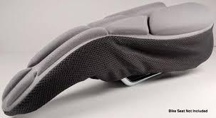 <b>Bike Saddle Cushion</b> & Comfy Bike Seat Cover - Komfy - KlevR LLC