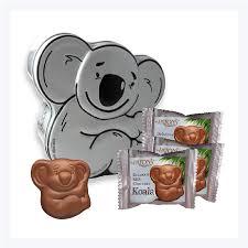 send koala chocolates overseas to america