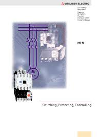 magnetic contactors, overload relays, contactor relays mitsubishi Contactor Coil Wiring Diagram magnetic contactors, overload relays, contactor relays 1 8 pages