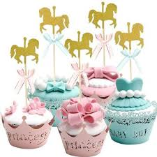 best blue cupcakes for baby shower