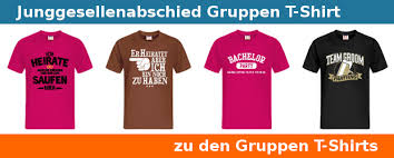 Junggesellenabschied T Shirt Party Tippsorg