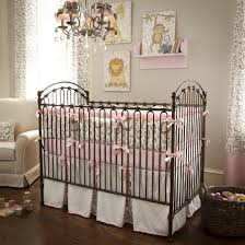 baby girl crib bedding sets pink and gray nursery with dark furniture grey white bedroom tips