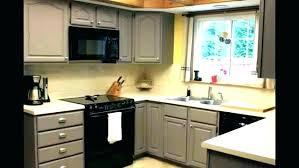 cabinet refinishing cost kitchen resurface cabinets painting laminate diy