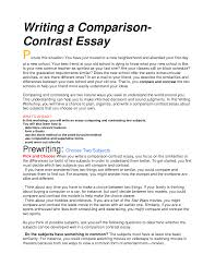 cover letter contrast and comparison essay example comparison and cover letter essay examples comparison josephocontrast and comparison essay example extra medium size