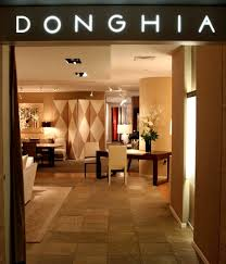 luxury showroom entrance retail interior design donghia new york