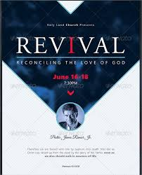 church revival flyers 20 revival flyers free psd ai eps format downloads free