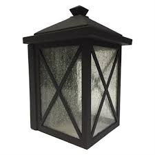 lucid lighting. lucid lighting 12in h black outdoor wall light i