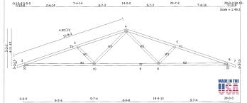 Design Of Fink Type Roof Truss Fink Truss Hidrozon Com Co